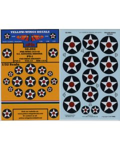 32-002 U.S. National Insignia, SBD-1/2/3, F2A-1/2, F4F-3