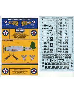 48-008 USN SB2U-1 Vindicator Section Leaders Aircraft