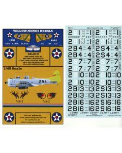 48-012 USN SBD-2 Dauntless Section Leaders Aircraft