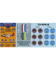 72-026 USN TBD-1 Devastator Section Leaders VT-5 & VT-6