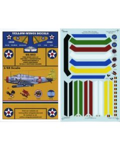 48-003 USN TBD-1 Devastator Chevrons & Fuselage Bands
