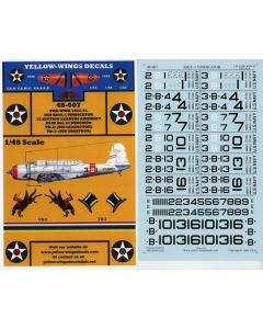 48-007 USN SB2U-1 Vindicator Section Leaders Aircraft