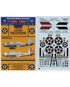 48-010 USN SB2U-1/2 Vindicator Complete Package