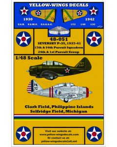 48-051 USAAC Seversky P-35/P-35A