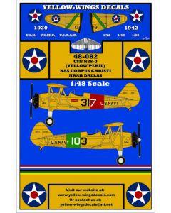 "48-082 USN Boeing/Stearman N2S-3 Trainer ""Yellow Peril"""