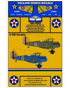 48-085 USAAC Curtiss P-6E Part-2