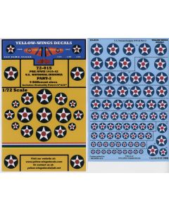 72-015 U.S. National Insignia Part-2 9 Different Sizes