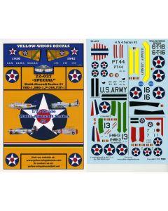 "72-037 ""Special"" Multi-Aircraft Series # 1 TBD-1, SBD-1, F3F-1, P-36A"