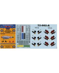 72-002 TBD-1 Devastator Section Leaders VT-2 & VT-3