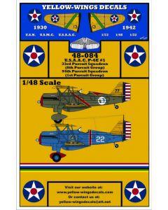 48-084 USAAC Curtiss P-6E Part-1