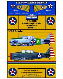 48-080 USN North American SNJ-3 Trainer